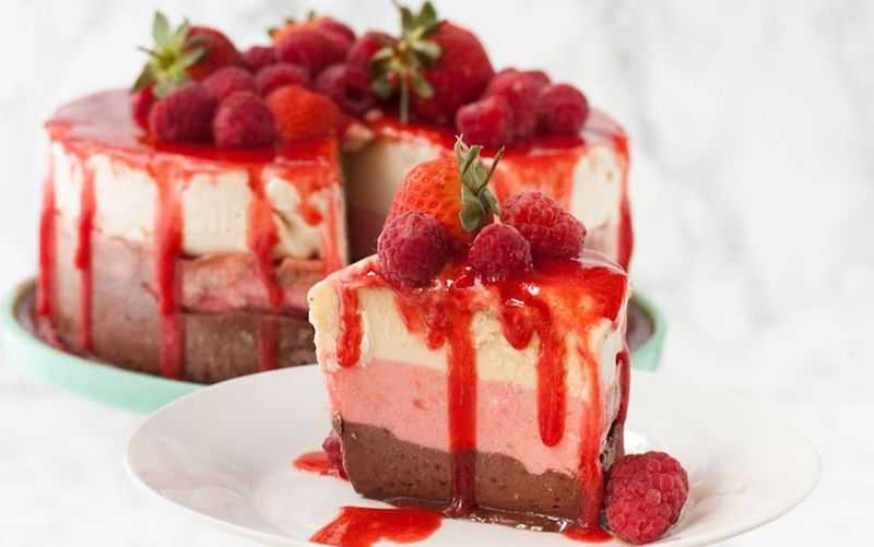 The Greedy Vegan for ice cream cake ideas