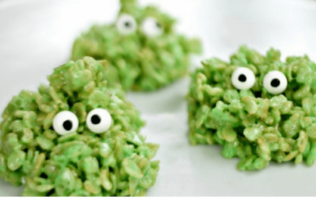 Monster cakes for halloween party food ideas