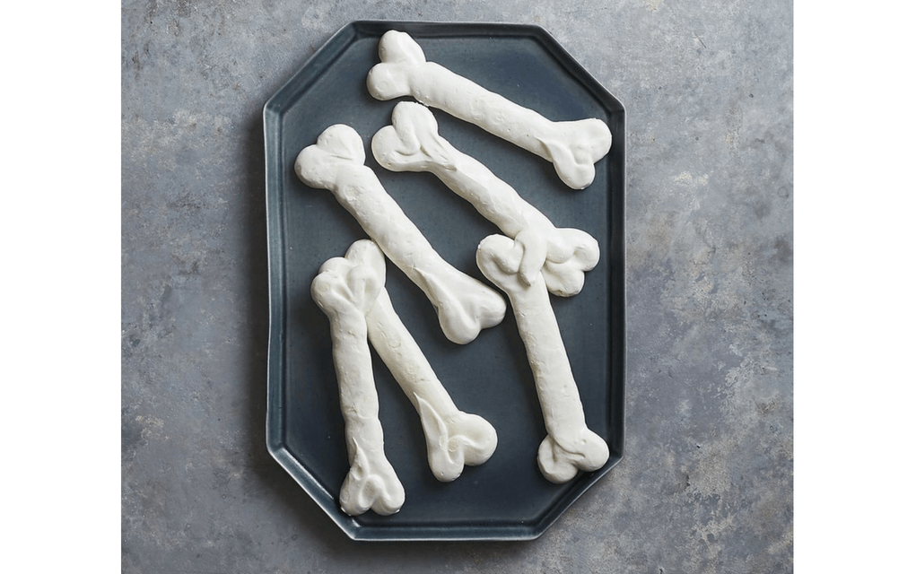 Skeleton bones for Halloween party food ideas