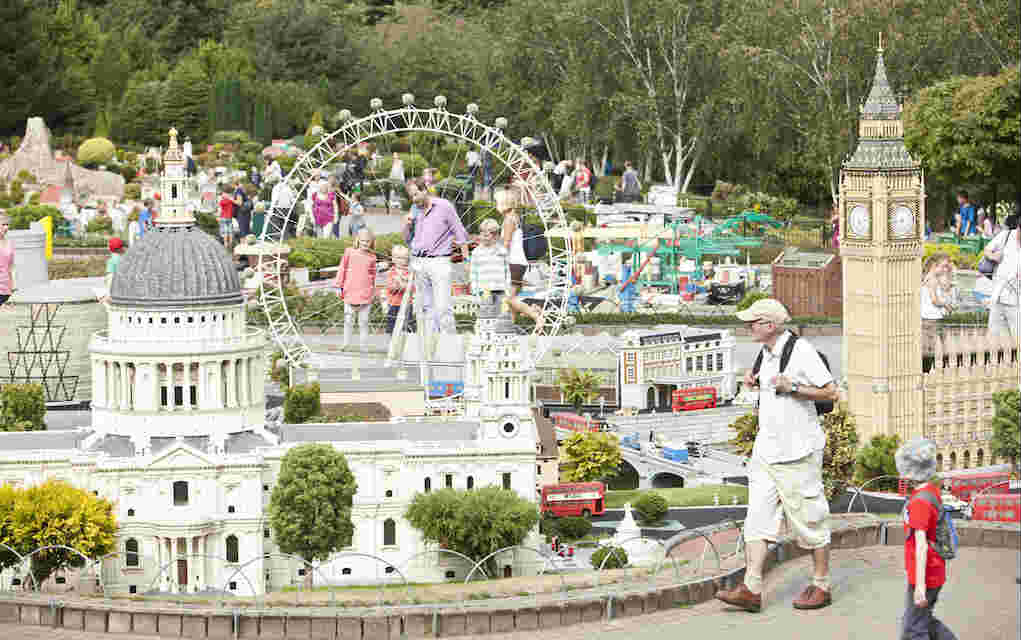 Miniland London at LEGOLAND Windsor Resort with family