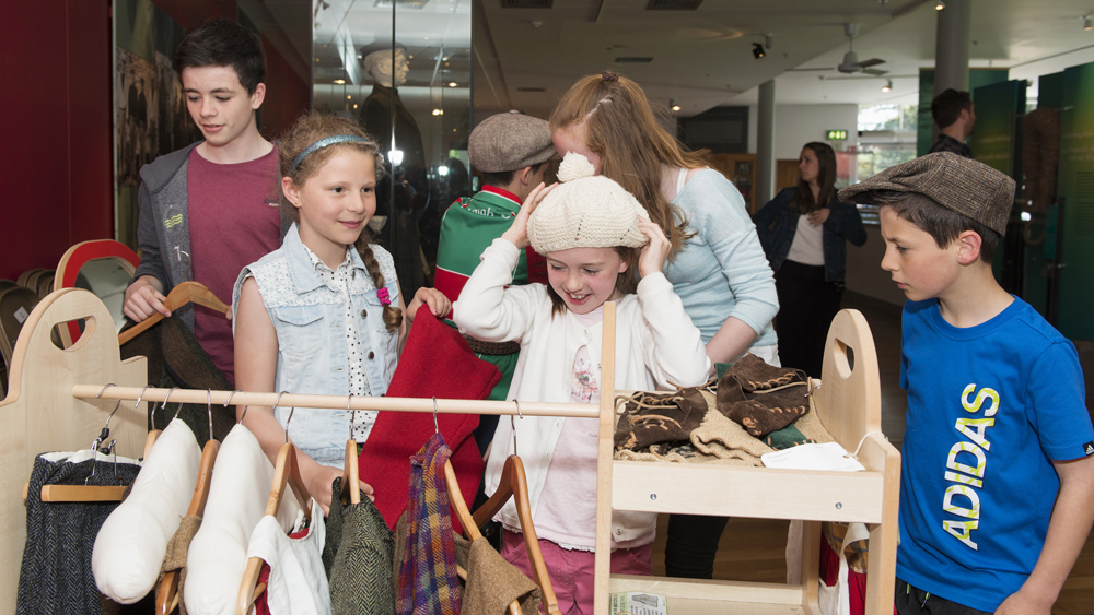Free things to do in Mayo NMI Country Life Museum dressing up station