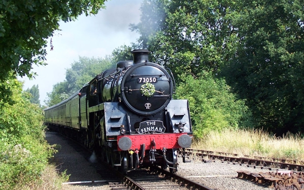 Nene valley for train rides in the UK
