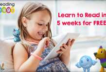 Reading Eggs Back to School Offer Learn to Read in 5 weeks