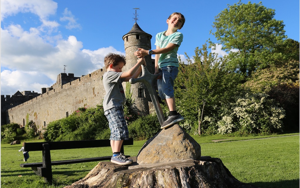 Tipperary Toursim Cahir Castle Excalibars Sword Things to do in Tipperary