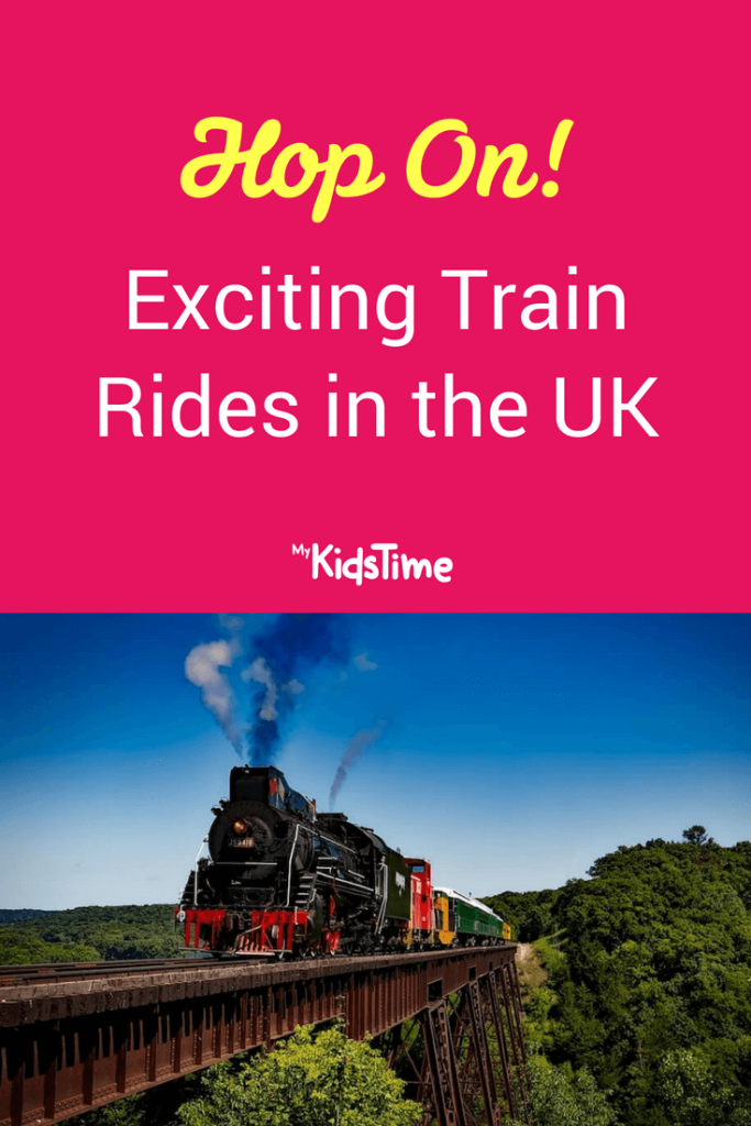 Mykidstime family fun train rides in the UK