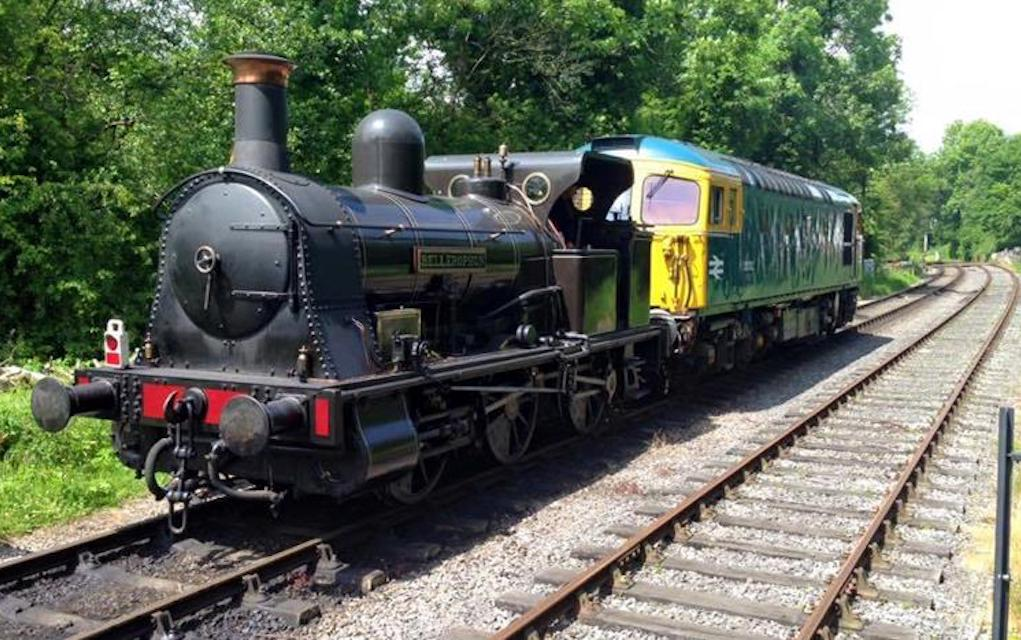 Churnet valley railway for train rides in the uk