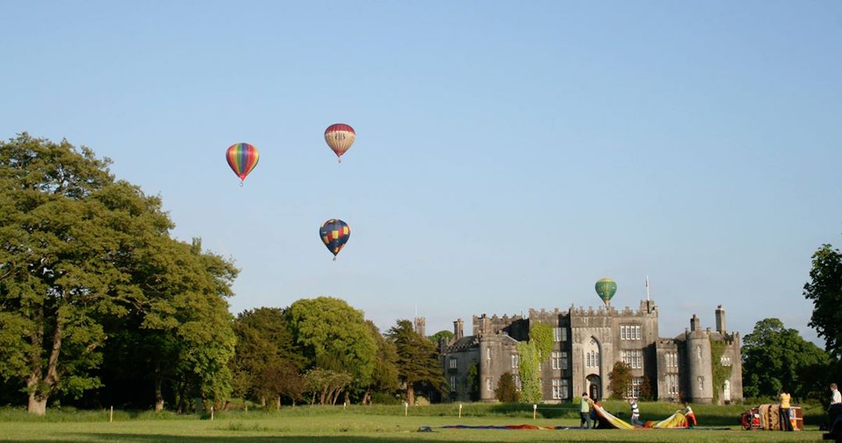 Things to do in Ireland with Kids hot air ballooning championships at birr castle