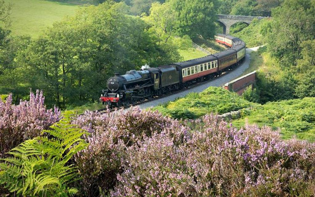 North YOrkshire Moor Railway for train rides in the UK