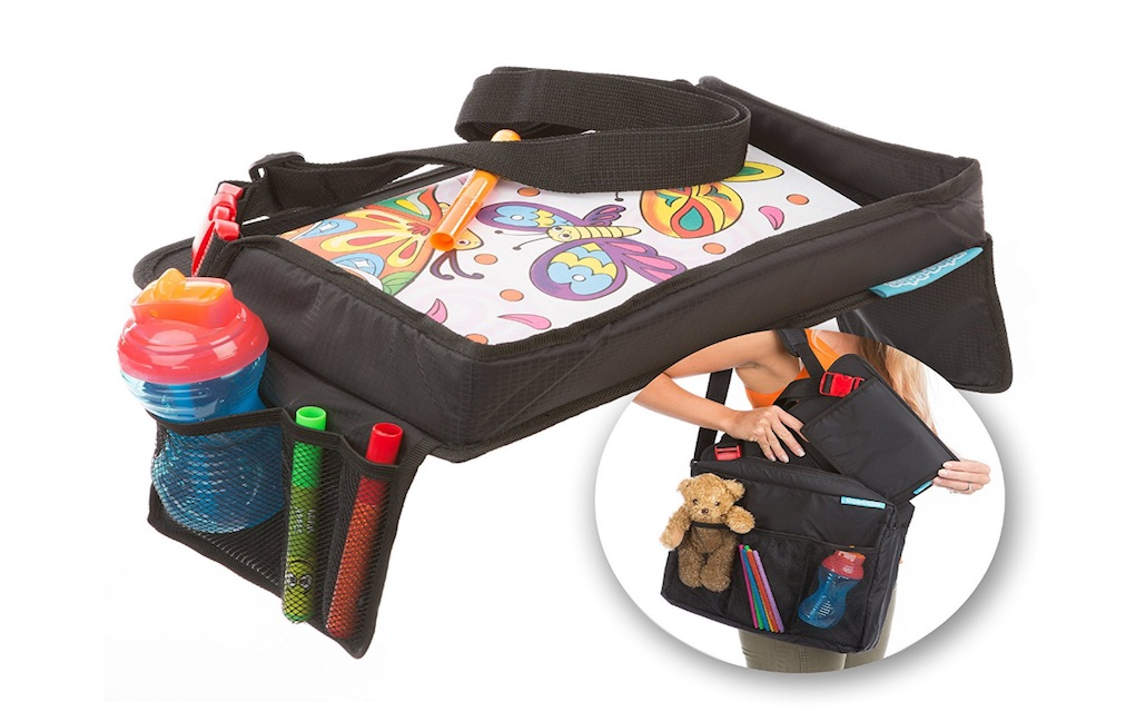 Win a snack and play travel tray