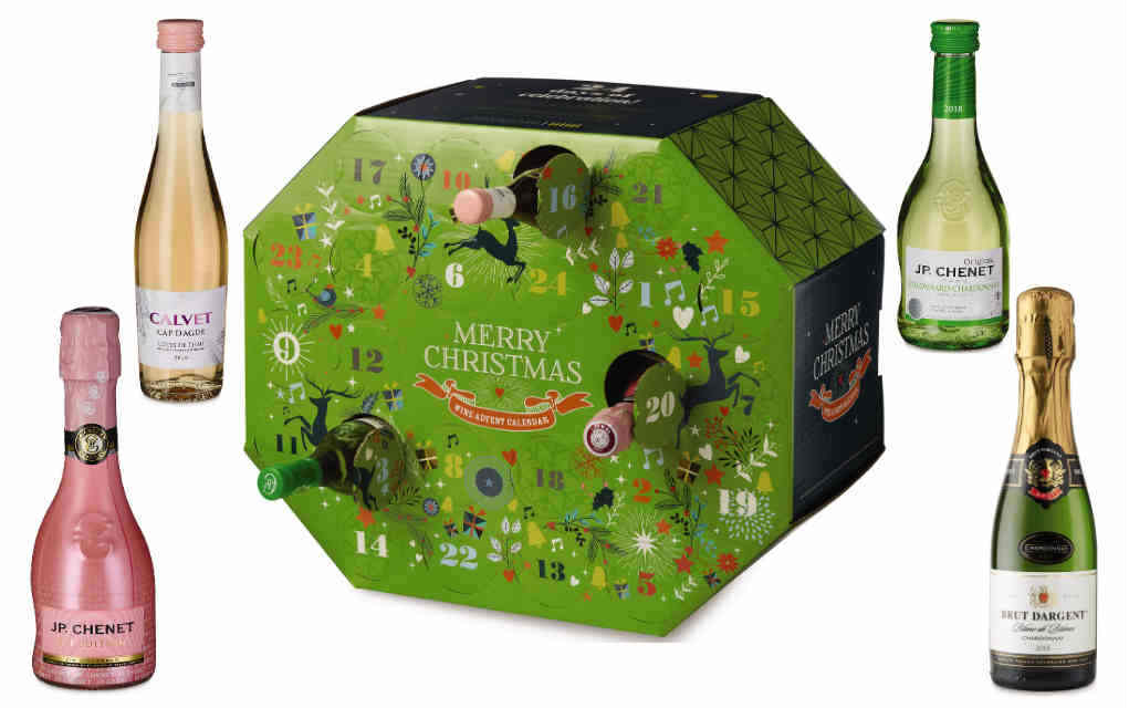Aldi wine advent calendar - Mykidstime