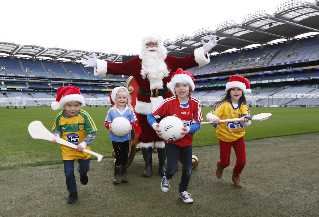 Visit Santa at Croke Park elf events in Ireland