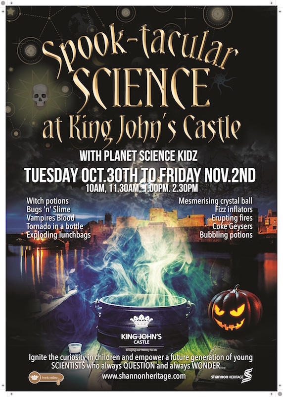 Halloween at King Johns Castle