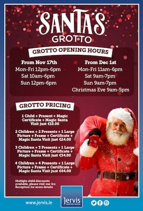 Jervis Santas Grotto 2018 details Places to Visit Santa