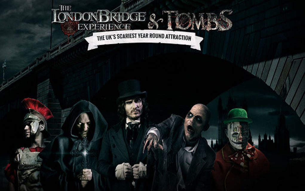 London Bridge and Tombs for Halloween events in the UK for kids