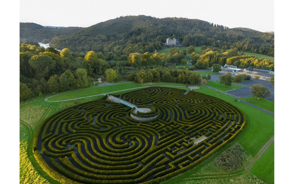 Castlewellan Peace maze for mazes in the UK