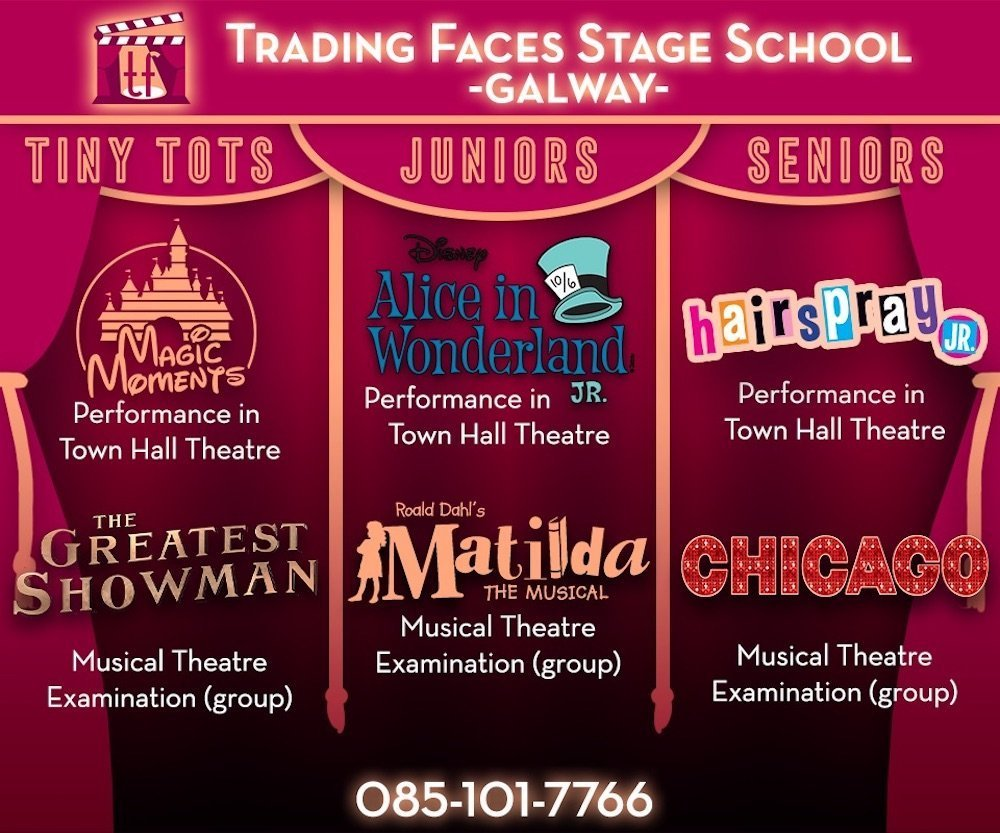 Trading Faces Galway Stage School benefits of performing arts