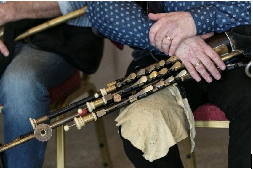 Uilleann Pipes National Museum of Ireland