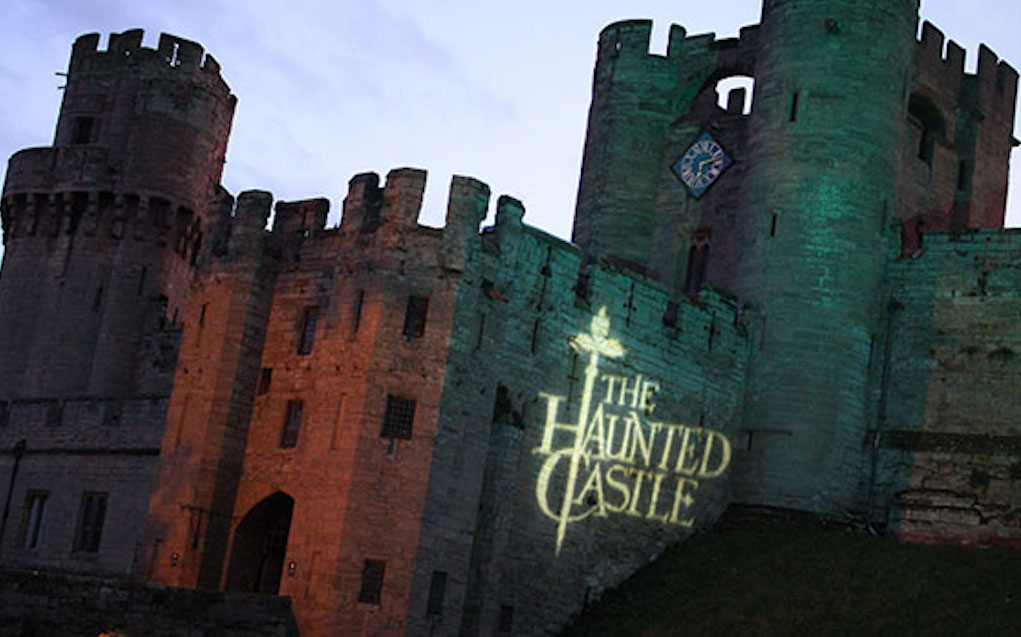Warwick Castle for Halloween events in the UK