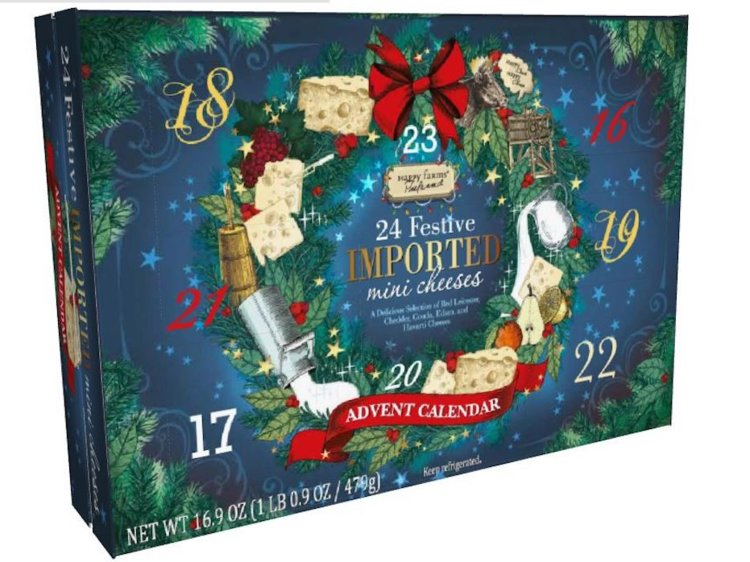 The cheese advent calendar is back for 2019, and can someone just take our money