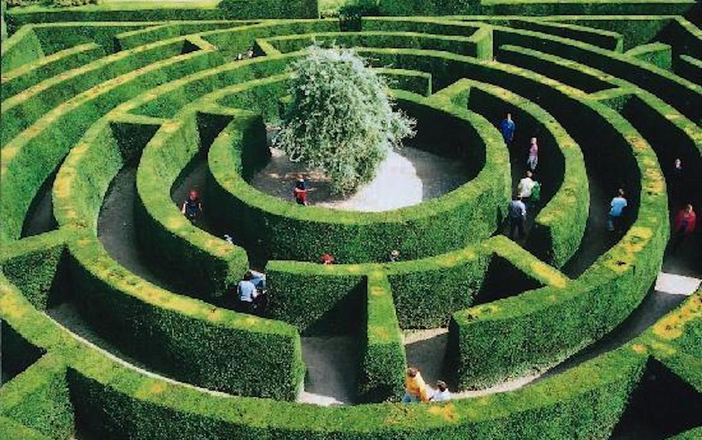 Chatsworth maze for mazes in the UK