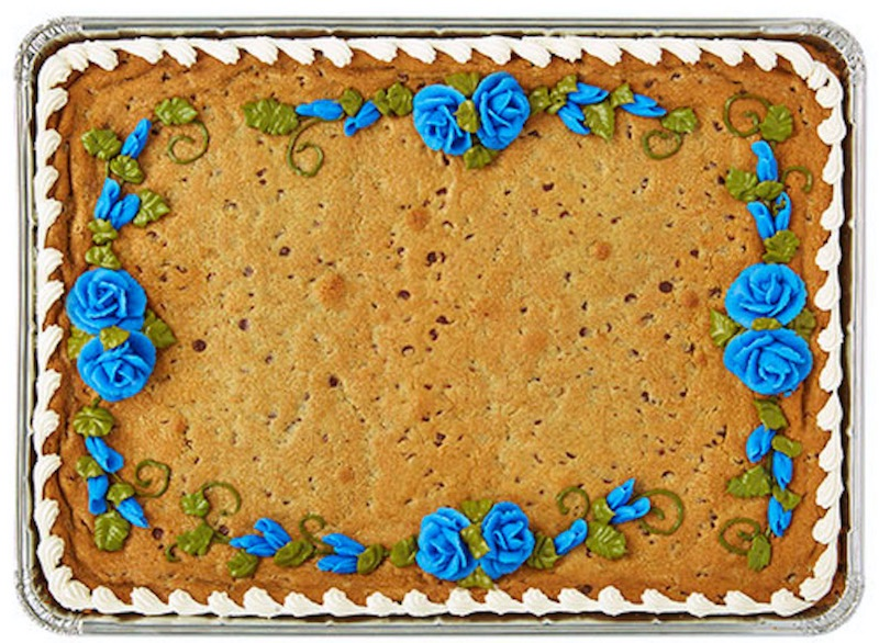 cookie cake from Wegmans simple desserts for kids