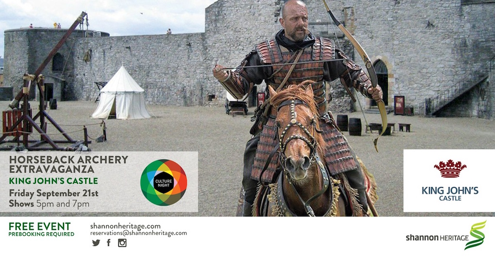 culture night 2018 at King Johns Castle