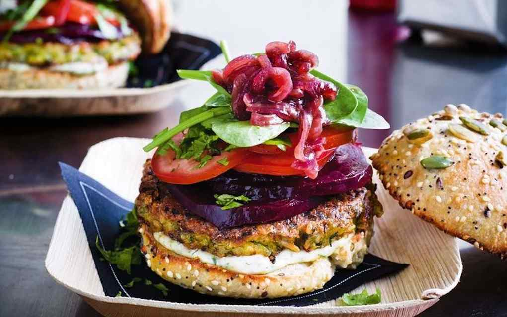 Zucchini recipes fritter buger