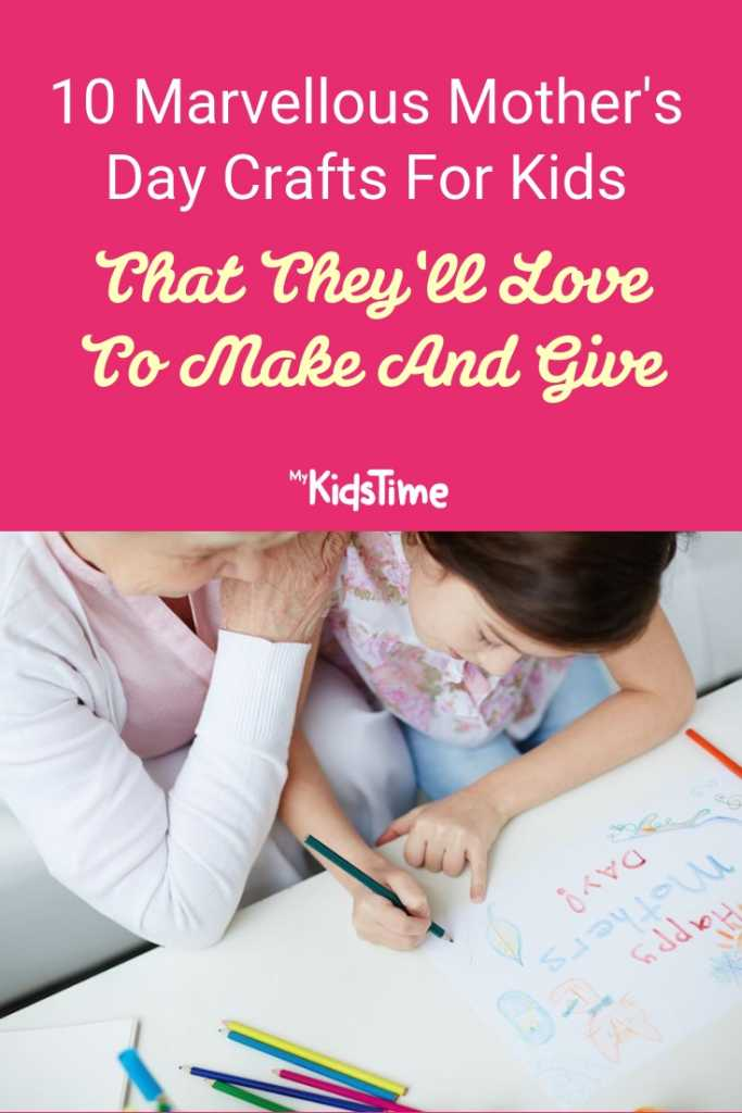 10 Marvellous Mother's Day Crafts For Kids That They'll Love To Make And Give