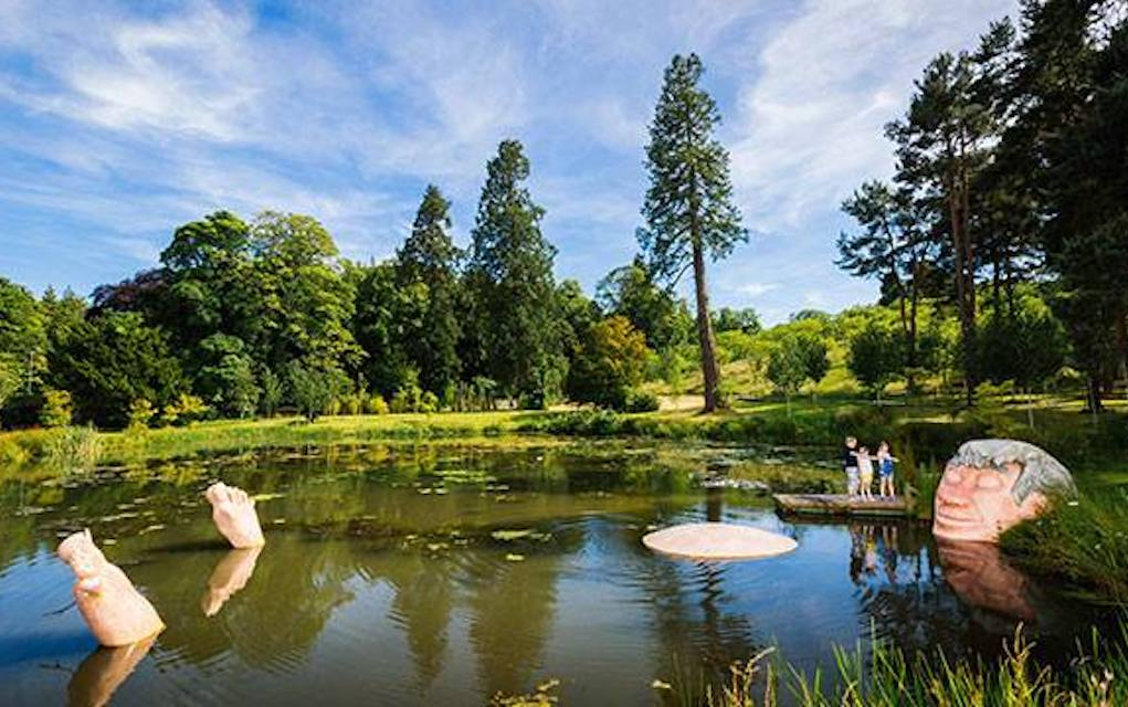 Alnwick Garden for unusual places to visit in the UK