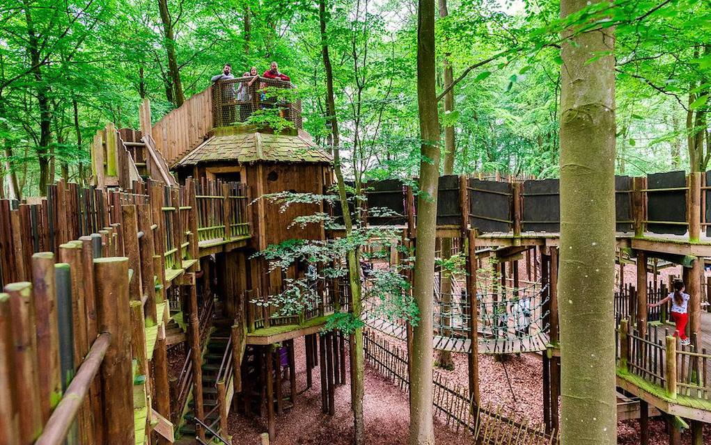 Bewilderwood for unusual places to visit in the UK
