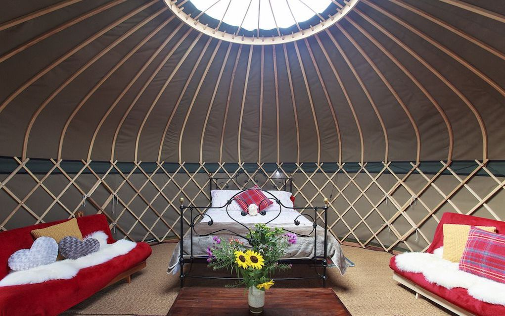 Campden Yurts for family glamping in the UK