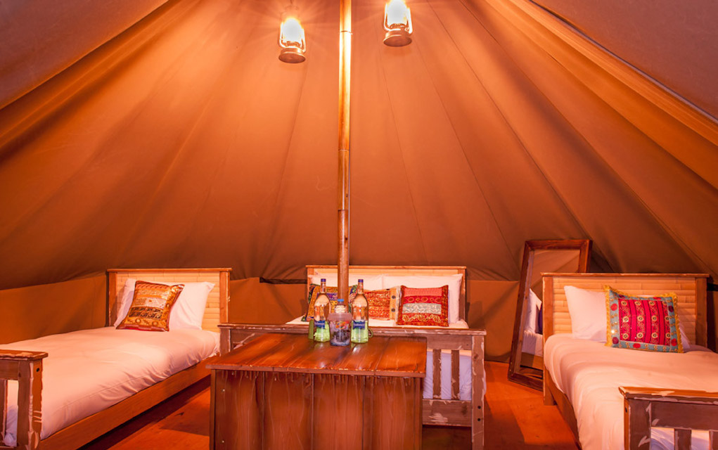 Chessington glamping for family glamping in the UK