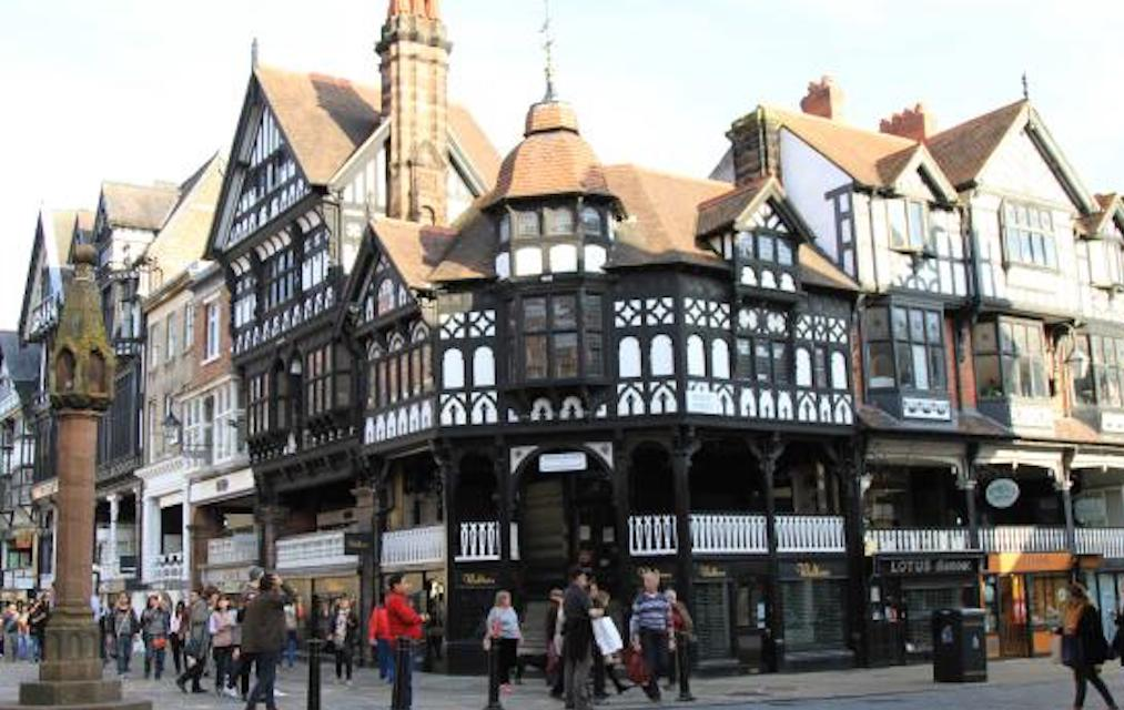 Chester for unusual places to visit in the UK