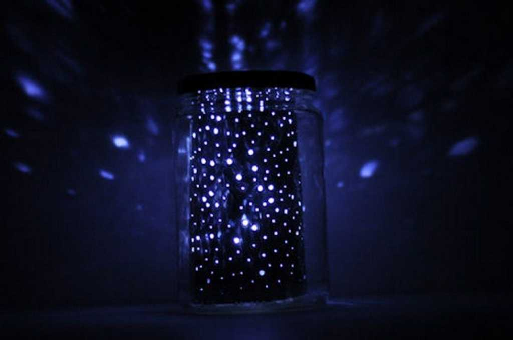 constellation jar lamp