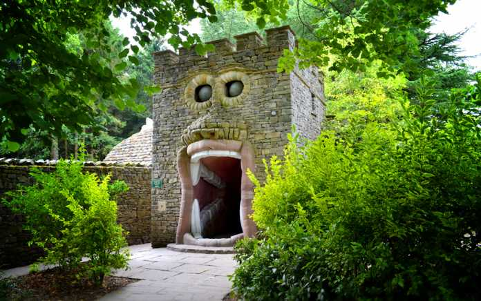 Forbidden Corner for unusual places to visit in the UK