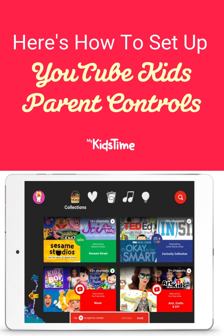 Here's How To Set up YouTube Kids Parent Controls