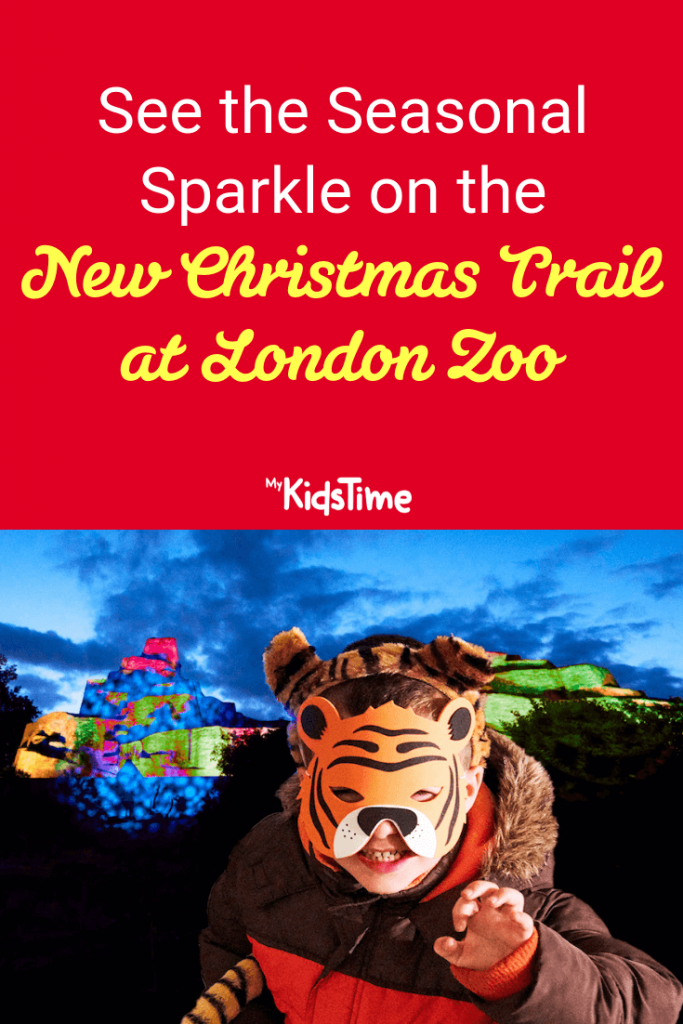 Mykidstime Christmas trail at London Zoo