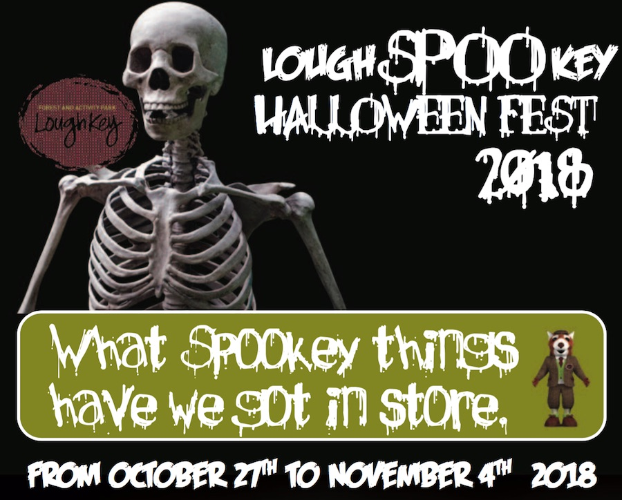 Halloween at Lough Key Lough Spookey 2018 Lough Key