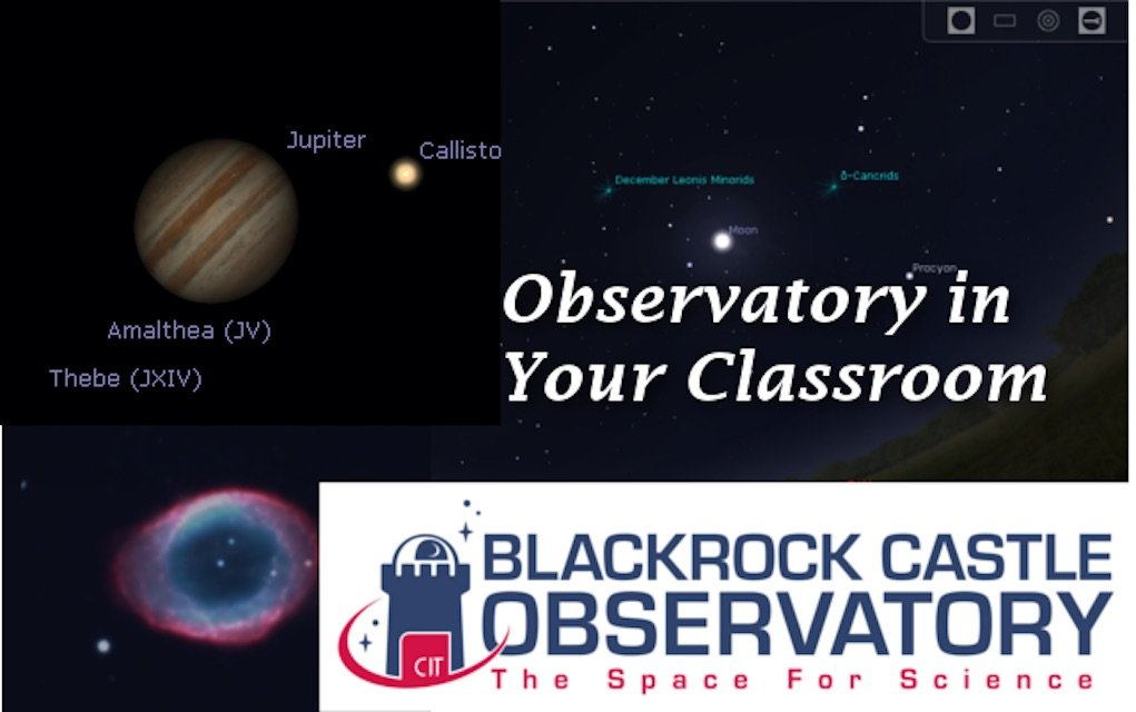 Space Week 2019 Observatory in Your Classroom Blackrock Castle Observatory