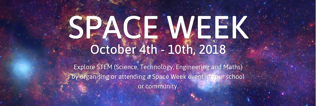 Image result for world space week 2018