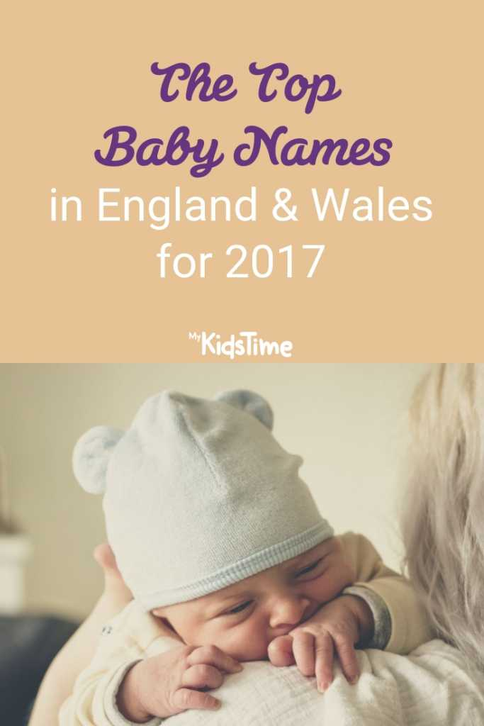 The Top Baby Names in England & Wales for 2017