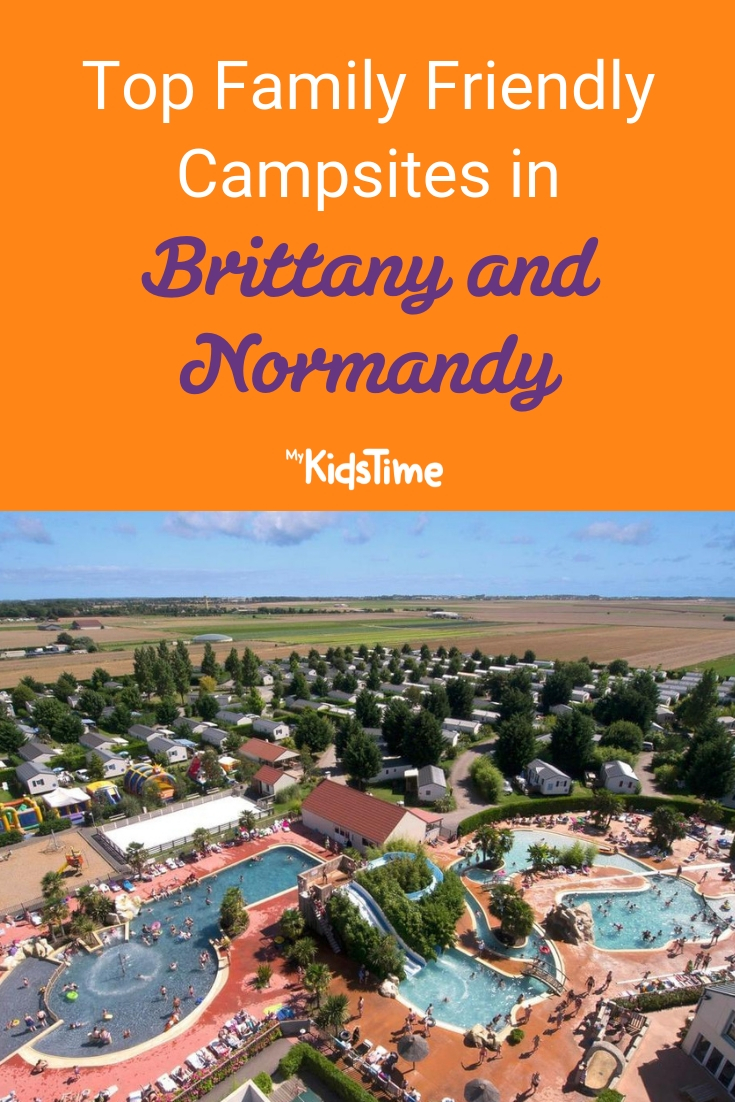 Top Family Friendly Campsites in Brittany and Normandy