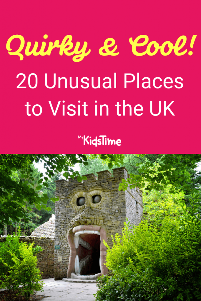 Mykidstime unusual places to visit in the UK