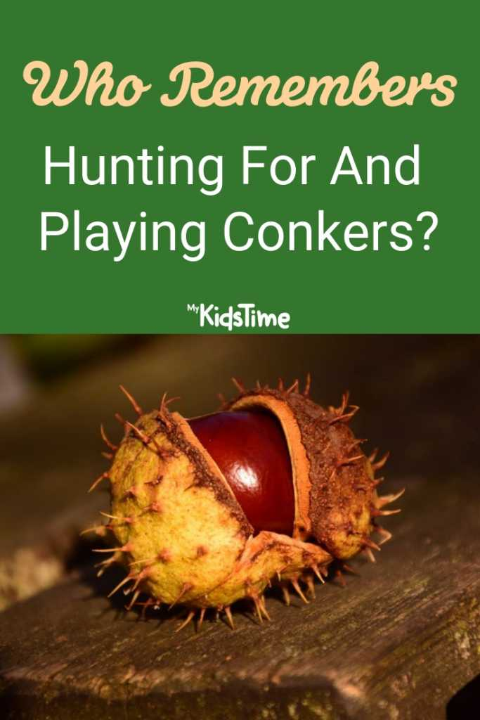 Who Remembers Hunting For and Playing Conkers