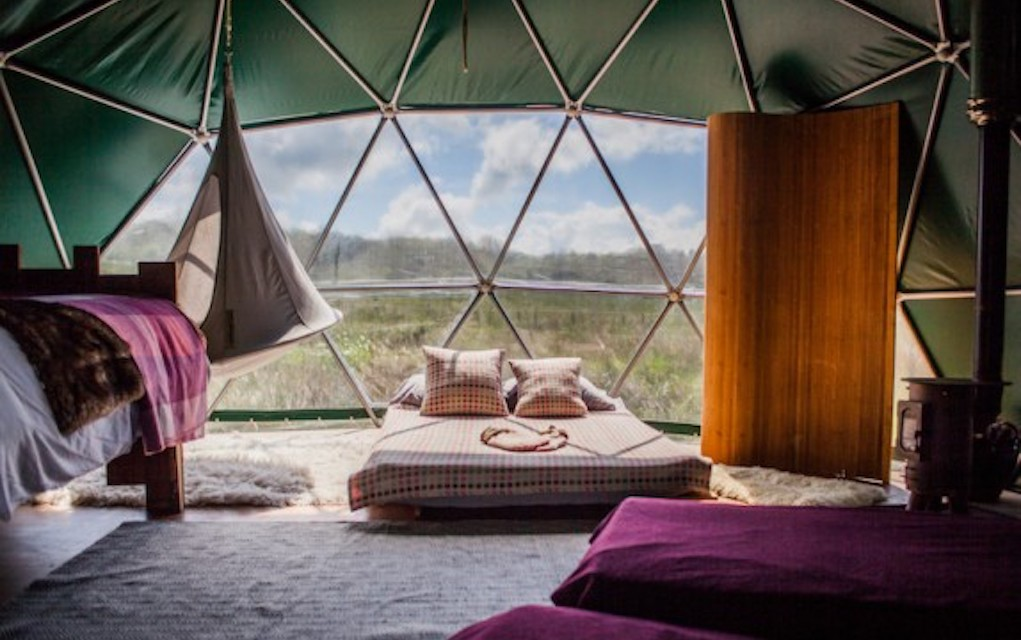 Cosy under canvas for family glamping in the UK