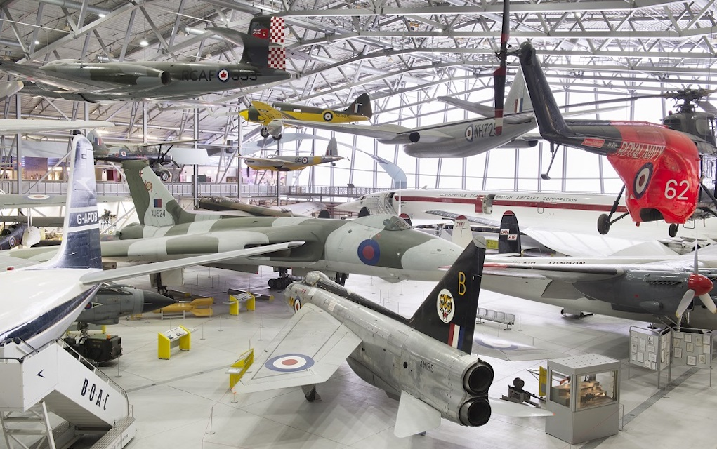 IMperial war museum for unusual places to visit in the UK