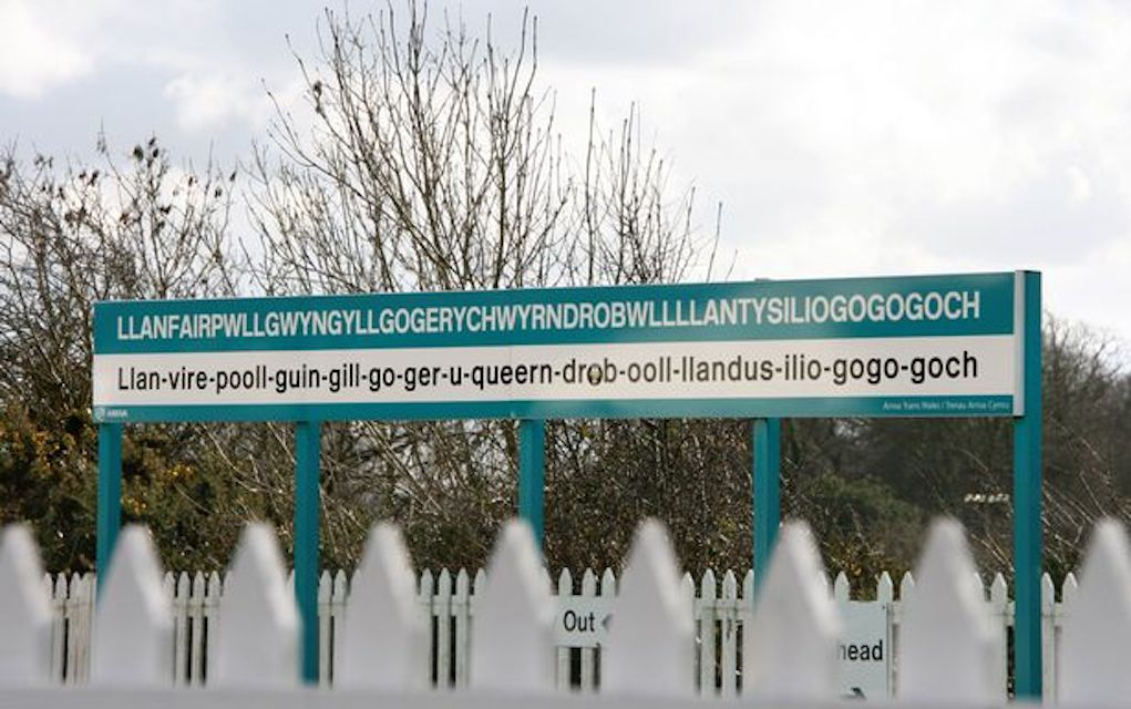 Llanfair for unusual places to visit in the UK