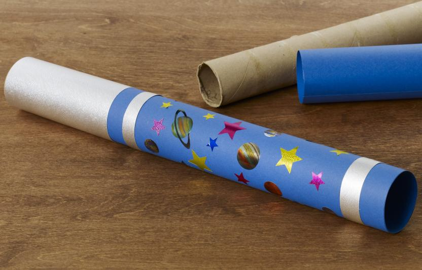 make a telescope space craft