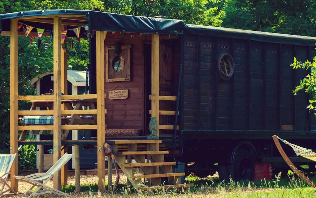 Secret Meadows for family glamping in the UK