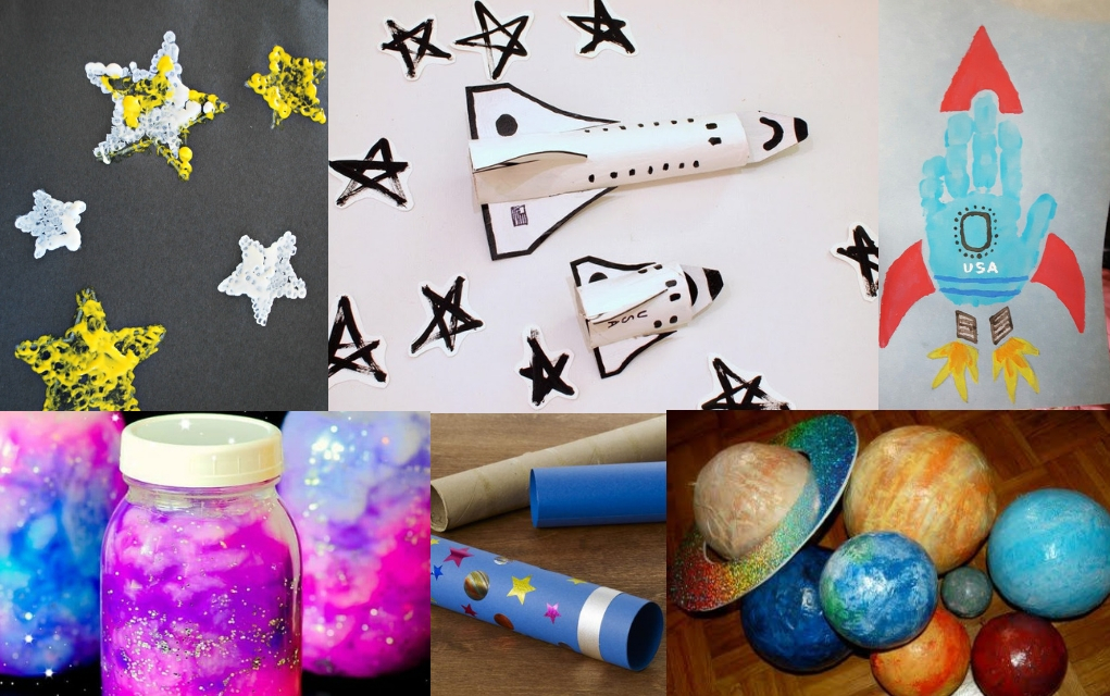 Space Art Projects For Preschoolers